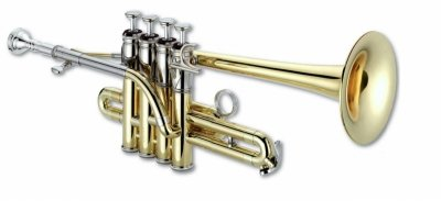 Trąbka piccolo B/A XO 1700L lakierowana