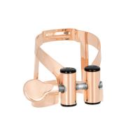 Ligaturka do saksofonu sopranowego Vandoren M/O pink gold