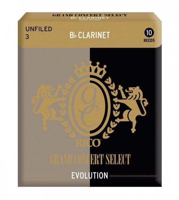 Stroiki do klarnetu B/A Rico Grand Concert Select Evolution 4 Filed stare opakowanie