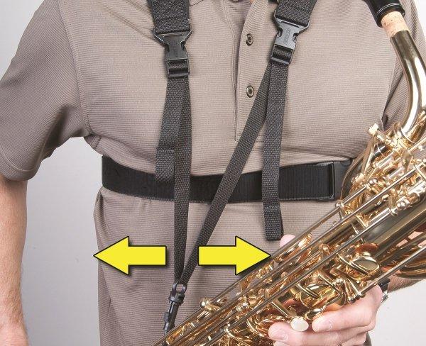 Szelki do saksofonu Neotech Sax Practice