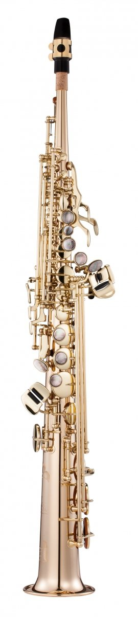 Saksofon sopranowy LC Saxophone SU-702CL clear lacquer