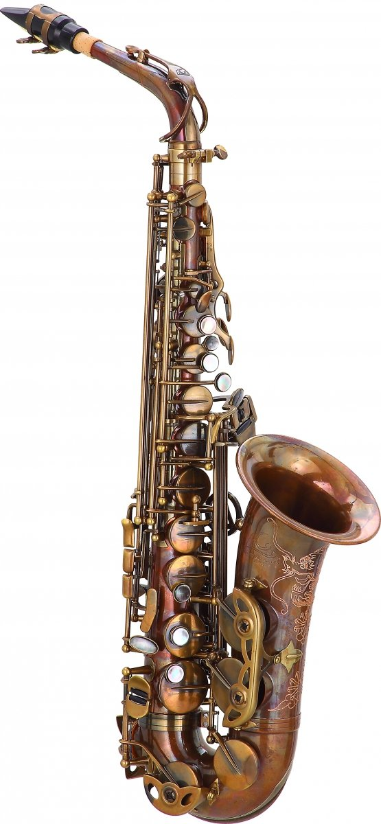 Saksofon altowy LC Saxophone A-703UL unlacquer finish