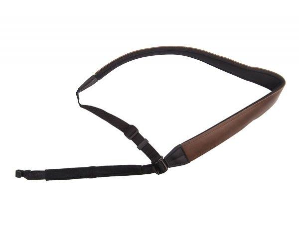Pasek do gitary klasycznej Neotech Slimline Classical Leather