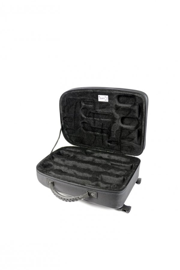 Futerał na klarnety B/A BAM New Trekking Brushed Aluminium TREK3028S