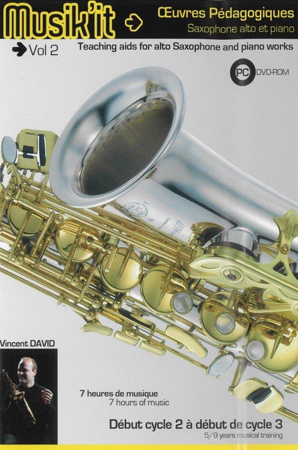 Płyta DVD Henri Selmer Paris Musik'it saksofon vol. 2