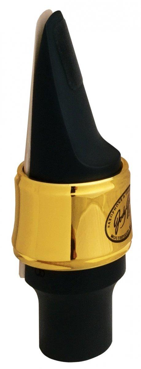 Ligaturka do saksofonu altowego JodyJazz Power Ring pozłacana 24k