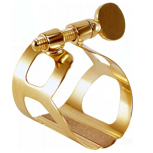 Ligaturka do saksofonu altowego BG Tradition L11 pozłacana