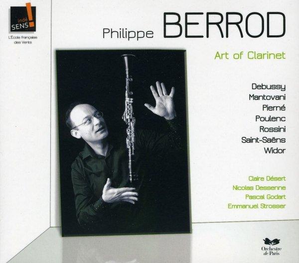 "Płyta CD Philippe Berrod ""Art of Clarinet"""