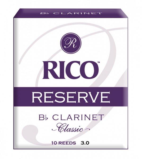 Stroiki do klarnetu B/A Rico Reserve Classic stare opakowanie