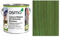 Osmo Lazura Olejna do Ochrony Drewna 729 choinkowa zieleń 2,5 l