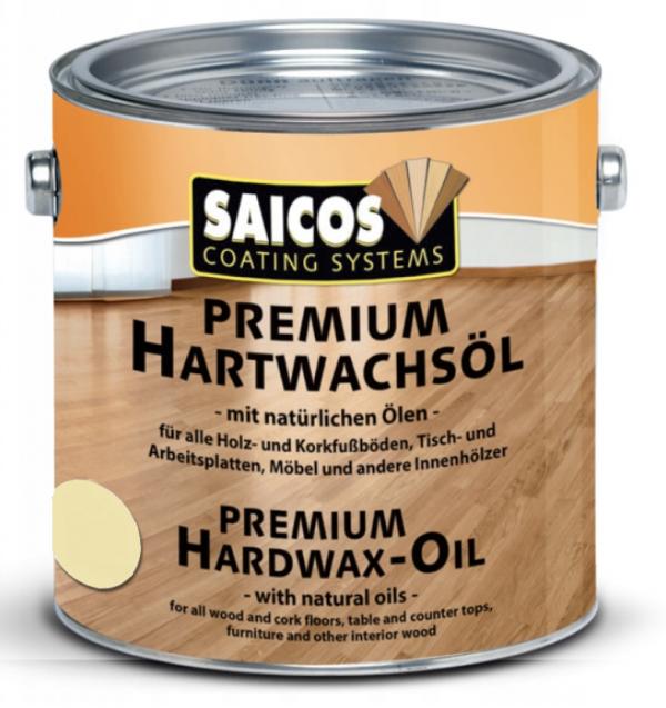 Wosk Twardy Olejny Premium Saicos 3305 opak. 2,5 L MATOWY