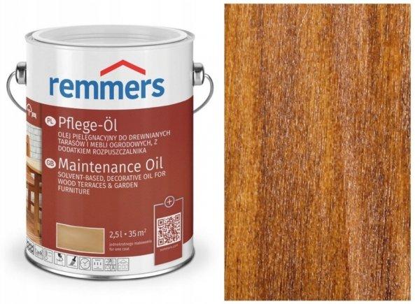 Olej tarasowy Remmers Pflege-Ol opak. 2,5 L ORZECH