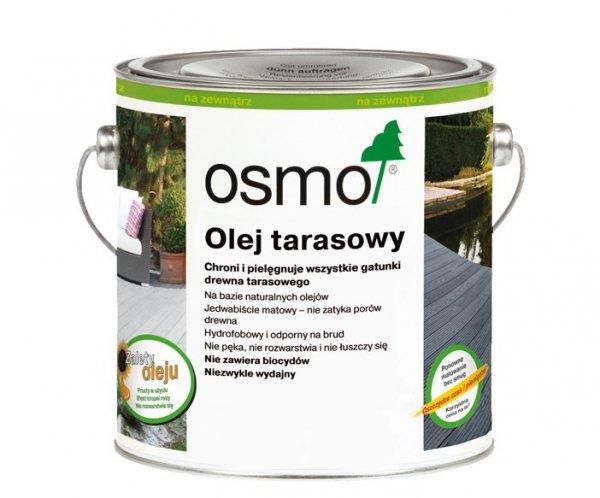 Olej Tarasowy Osmo 019 opak. 125 ml SZARY
