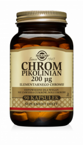 Solgar Chrom pikolinian