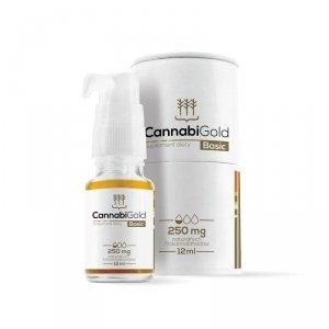 HemPoland CannabiGold Basic 250 mg, 12 ml