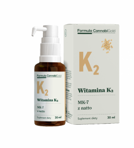HemPoland CannabiGold Witamina K2 z natto 30 ml