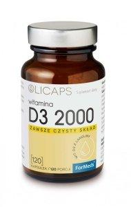 ForMeds OLICAPS D3 2000 120 kaps