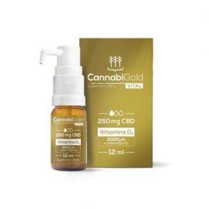 HemPoland CannabiGold Vital 250 mg, 12 ml
