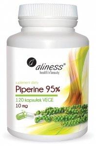 Piperine 95% 10 mg x 120 kapsułek Aliness