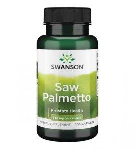 Swanson Saw Palmetto 540mg 100 kaps