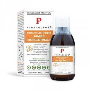 Nalewka Paracelsusa: Pamięć i koncentracja (200ml)