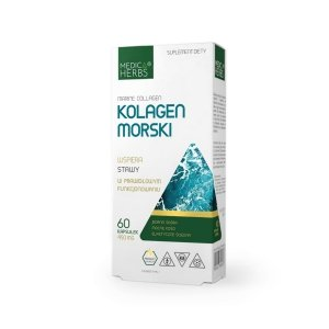 Medica Herbs Kolagen Morski Marine Collagen 60 kaps
