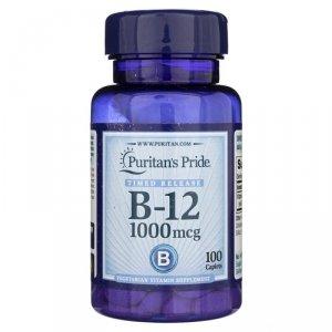 Vitamis B-12 1000mg 100caplets Puritan's Pride