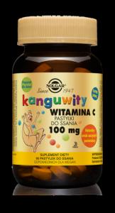 Solgar Kanguwity Witamina C 100 mg