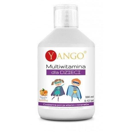 Yango Multiwitamina dla Dzieci 500 ml