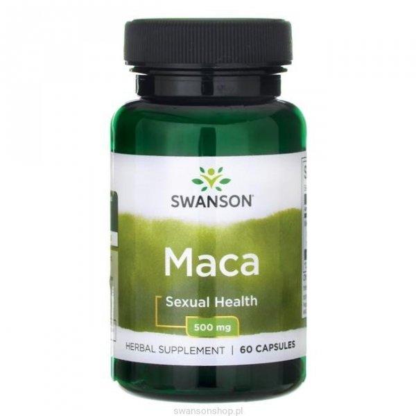 Swanson Maca extract 500mg 60 kaps SWP011