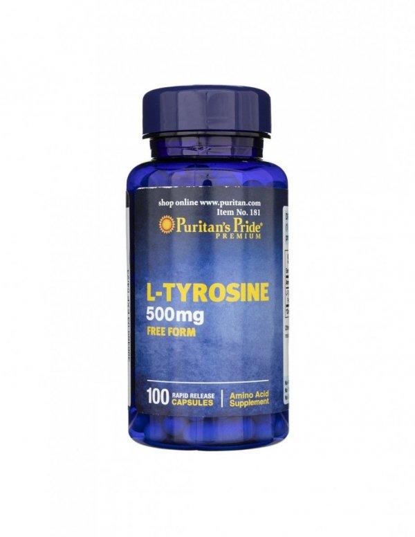 L-Tyrosine 500mg 100 caps Puritan's Pride