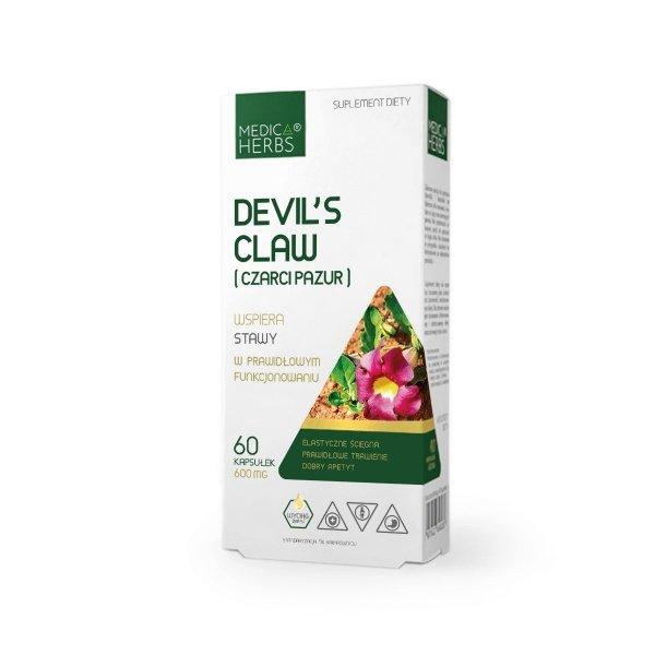 Medica Herbs Devil's Claw (Czarci pazur) - stawy, układ trawienny