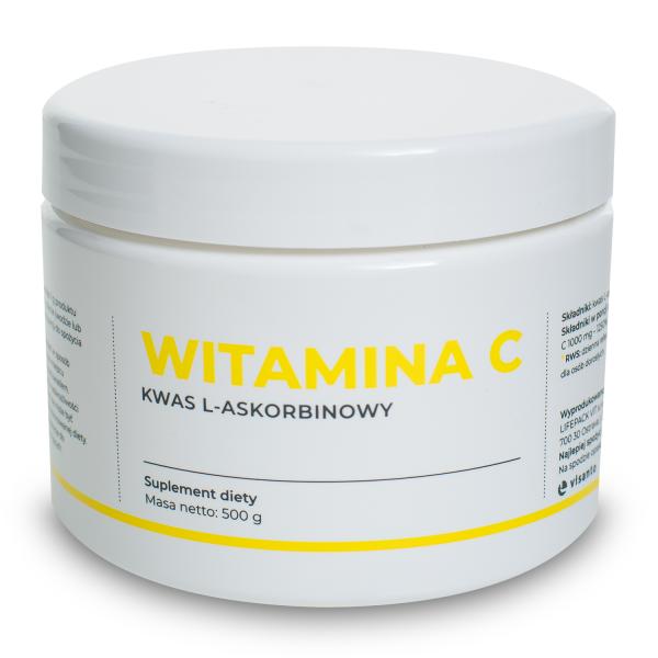 Witamina C - 100% kwas l-askorbinowy VISANTO