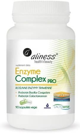Enzyme Complex Pro 90 kapsułek vege Aliness