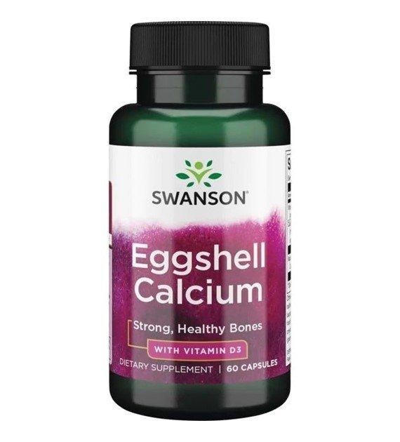 SWANSON Eggshell calcium & Vitamin D-3 SWU465