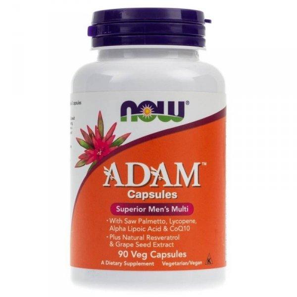 Now Foods ADAM (multiwitaminy dla mężczyzn) - 90 kapsułek