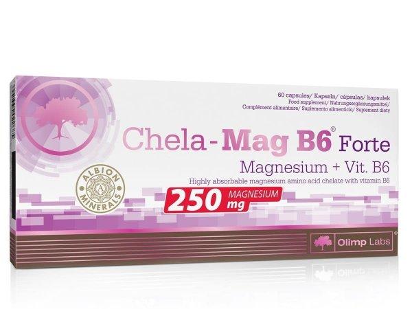 Olimp Chela - Mag B6 Forte 60 kaps.