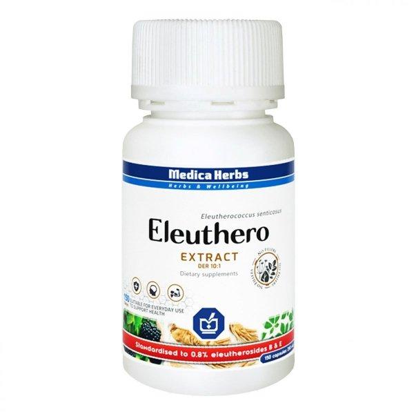 Medica Herbs Eleuthero / Żeń-szeń syberyjski - odporność, witalność