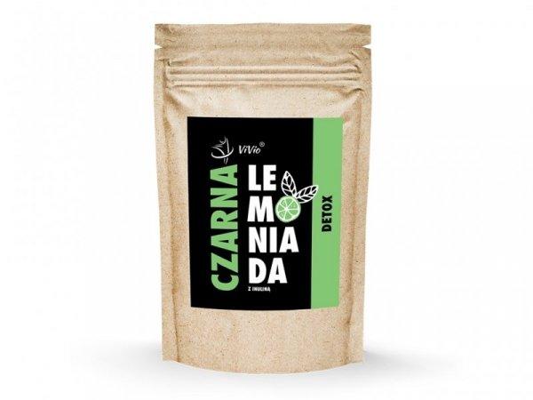 Vivio Czarna Lemoniada DETOX z Inuliną 100g