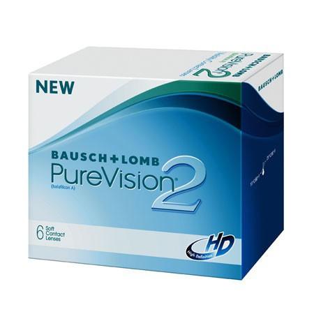 Soczewki miesięczne PureVision 2 HD 6 szt.