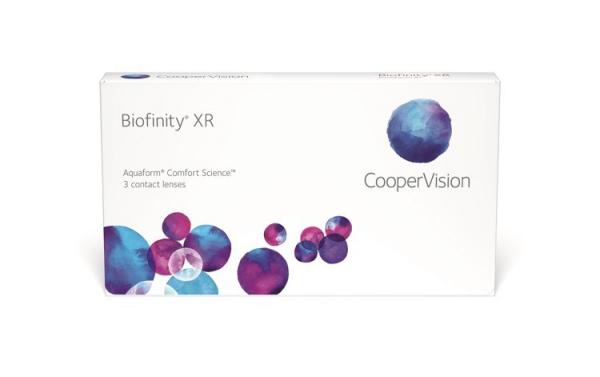 Soczewki miesięczne Biofinity XR 3 szt