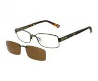 Okulary korekcyjne z nakładkami