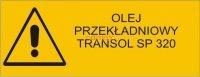 Naklejka - Olej TRANSOL