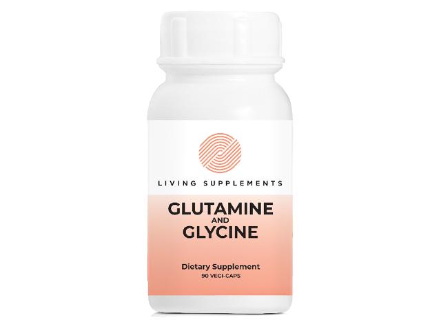 Glutamine 300mg i Glycine 150mg 90 kapsułek
