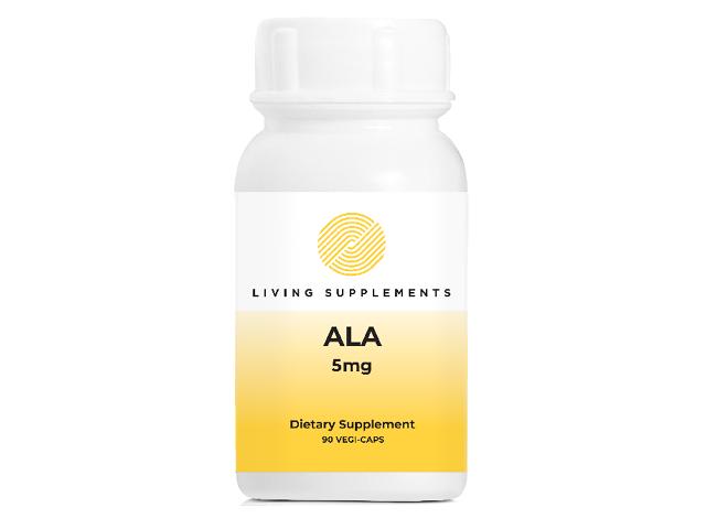 Kwas alfa liponowy ALA 5 mg - 90 kapsułek Alpha Lipoic Acid