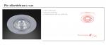 Wpust halogenowy  Pio alluminio Orlicki Design