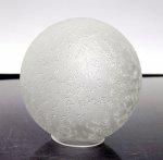 Klosz szklany kula średnica 12 cm,klosz kulka