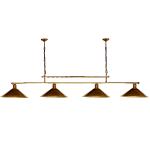 Żyrandol mosiężny JBT Stylowe Lampy WZMB/W34/4ŚD/340400