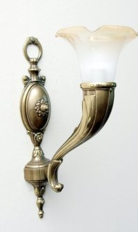 Kinkiet mosiężny JBT Stylowe Lampy WKMB/726K/1