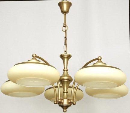 Żyrandol mosiężny JBT Stylowe Lampy WZMB/W63Z/d5